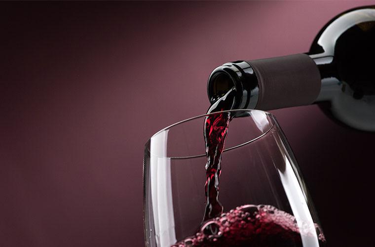 TVでネットで話題のワインを飲む