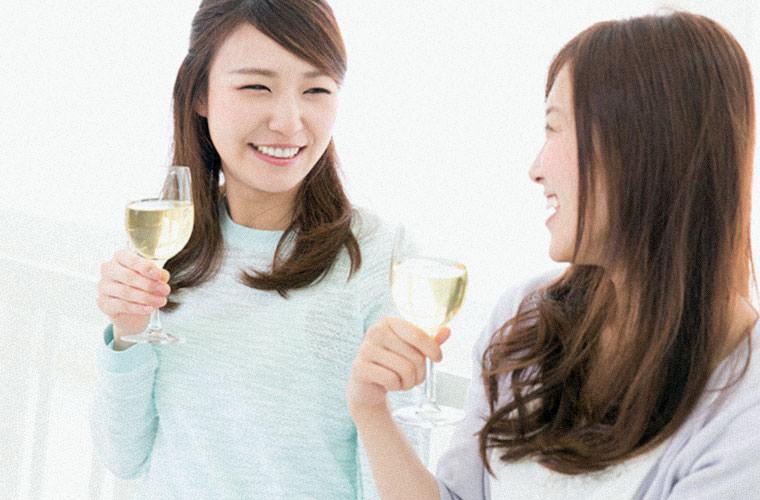 ワイン飲み初めの20代