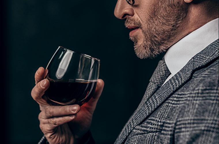 大人な感じの赤ワイン