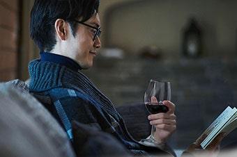 自宅で晩酌ワイン 一人暮らし・飲むのは自分だけ